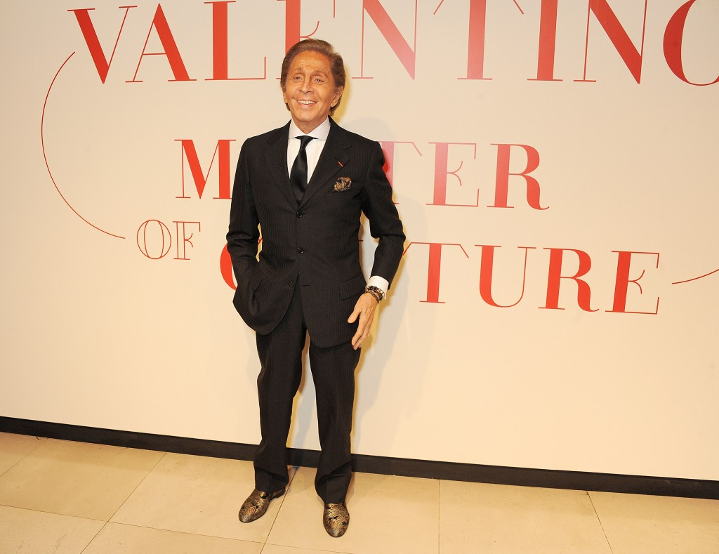Valentino: Master Of Couture - Private View At Somerset House