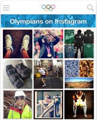 olympians on instagram