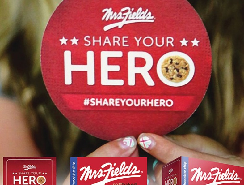 Mrs. Fields #ShareYourHero 2015 Campaign