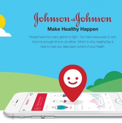 Johnson & Johnson's HEALTHYDAY App