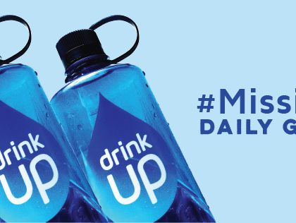 Drink Up's #MissionH20: Giveaways to Encourage Engagement